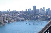 展望台からのシドニー湾