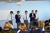 男子生徒の歌